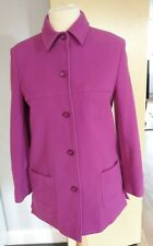 Kirsten Modedesign Cashmere Wool Coat Size 12 Gorgeous Ladies Womens Ex Cond