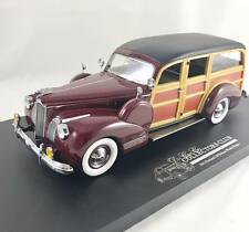 1941 Packard Woody Wagon Rare Paint Sample in Maroon in 1:24 Scale 41PWMR