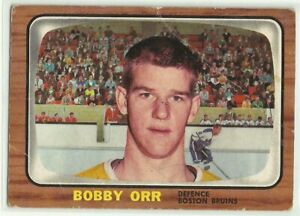 1966-67 TOPPS BOBBY ORR RC ROOKIE  #35 AUTHENTIC ORIGINAL RAW UNGRADED BRUINS 📈