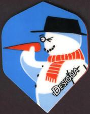 FROSTY, The Dart Throwing Snowman Dart Flights: 3 per set