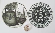 """5-Euro-Silbermünze """"Pummerin"""", Österreich, vergriffen"""