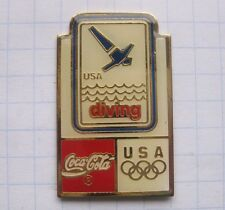 COCA COLA / OLYMPISCHE SPIELE USA DIVING  .................. Pin (120a)