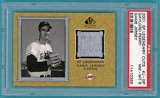 2001 SP Legendary Cuts, Gaylord Perry Game Used Jersey #J-GP PSA 8! Giants!