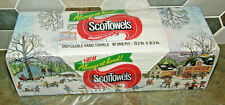 Vintage ScotTowels Scott Paper Hand Towels Boxed Sealed Christmas XMAS Themed