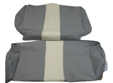 NEW GENUINE FIAT SEICENTO 600 S.S. 50TH REAR SEAT COVERS COVER 2 PCS