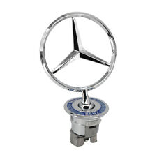 Mercedes-Benz Star Standing Hood Logo Emblem Badge 3D Fit E350 S550 W221 E-Class