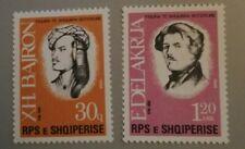 Albanien / Albania 1988 Persönlichkeiten 2354 - 2355 **