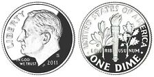 2011 S Proof Clad Roosevelt Dime (1 Coin)