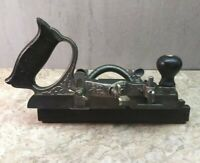 Vtg. Stanley No. 46 Skew Cutter Combination Plane USA woodworking hand tool