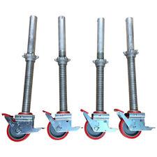 Alloy Tower Adjustable Legs & Castors Scaffold Tower Wheels - Youngman Boss etc