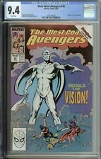 West Coast Avengers #45 CGC 9.4 1st app White Vision