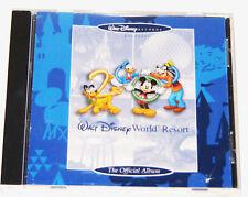 Walt Disney World Resort: THE OFFICIAL ALBUM - THEME PARK SOUNDTRACK CD! (2000)
