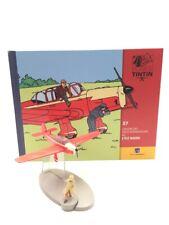 En Avion Tintin l'avion des faux-monnayeurs l'ile noire  N37 + livret