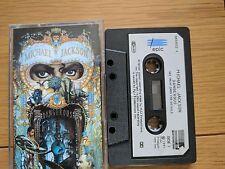 CASSETTE Michael Jackson Dangerous PAPER LABELS