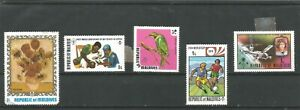 Maldives Different stamps