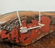Silver Arrow Necklace | Solid 925 Sterling Silver 4.2 grams | Pendant Chain |