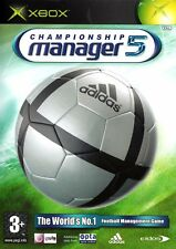 Championship Manager 5 (Xbox) - Free postage - UK Seller