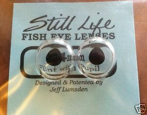 Jeff Lumsden Taxidermy Flint With Pupils Fish Eye Lenses 10m,12mm,14mm,16mm,18mm