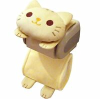 Brand new Tiger Cat Toilet Paper Roll Storage Holder Cover