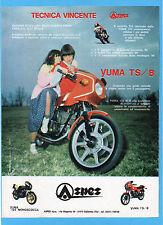 MOTITALIA981-PUBBLICITA'/ADVERTISING-1981- ASPES YUMA 125 TS/B