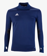 Adidas Tiro 17 Youth Long Sleeve Training Top Navy Size L
