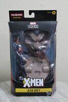 "Marvel Legends Jean Grey 6"" Action Figure Sugar Man BAF X-Men AOA Wave Hasbro"