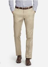 $98 Bonobos Weekday Warriors Dress Pants~ Wednesday Tans~ Straight Fit~ 40x32