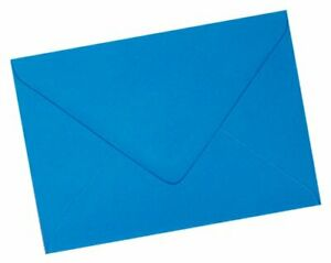 "50 x C6 Ocean Blue Premuim Quality 100gsm Envelopes - 6 x 4"" approx"