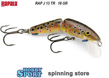 RAPALA JOINTED  J-13 TR RAINBOW TROUT   GR 18 FLOATING MODELLO ORIGINALE