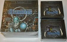 Ophidian 2350 Sealed Collectible Card Game 9 starter deck & 2 Booster boxes LOT