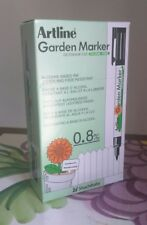Artline EK780 Garden Marker Pens Water Resistant UV Proof 0.8mm Pack of 12