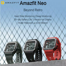 NEW AMAZFIT Neo Smart Watch Bluetooth Smartwatch 5ATM HeartRate Tracking 28 Days