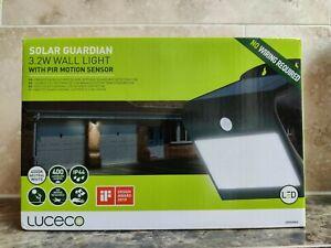 LUCECO Solar Guardian 3.2W Wall Light with PIR Motion Sensor