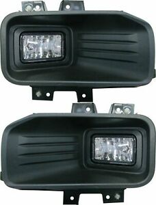 fit FORD F150 PICK UP 2018-2019 RIGHT LEFT HALOGEN FOG LIGHTS DRIVING LAMPS PAIR