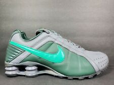 Nike Shox Junior Mens Size 9 Running Shoes Grove Lucid Green Sample Turbo NZ TL