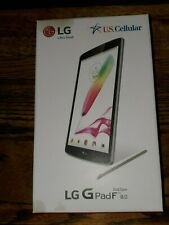 LG G Pad F UK495 16GB, Wi-Fi + 4G (U.S. Cellular), 8in - Silver