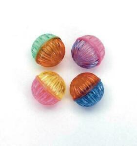 (4 Pack) Coastal Pet Rascals Beaded Ball Cat Toys | 1.5 Inch