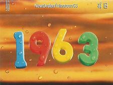 NewOrder Nineteen63 CASSETTE SINGLE Electronic House, Synth-pop, Big Beat