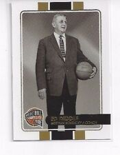 2009-10 PANINI HALL OF FAME ED DIDDLE #103 - SERIAL NUMBER #070/599 W KENTUCKY