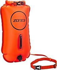 Bouée Zone3 Swim Buoy Dry Bag 28 l orange Neuve