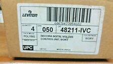 Leviton Decora Digital Volume Control Unit Box of 4 Cat48211-Ivc