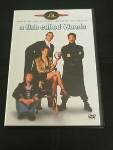 A Fish Called Wanda DVD John Cleese Jamie Lee Curtis Kevin Kline Michael Palin