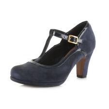 Sandali e scarpe blu formale per il mare da donna