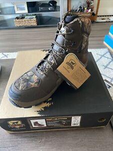 "Irish Setter Vaprtrek 8"" hunting boots - 1200g Insulation - Waterproof - SZ 14"