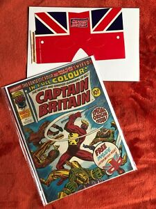 CAPTAIN BRITAIN #1 Marvel Comics 1st App of Captain Britain with Mask