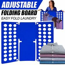Clothes Folder Magic Fast Laundry Organizer Creative T-Shirt Folding Board UK