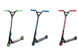 Kids Stunt Scooter Street Pro Kick Push Scooter 360 Spin Fixed Bar for 8+ Age UK
