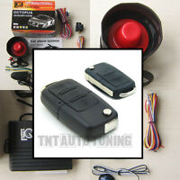 Car Alarm Security System + Remote Central Locking Kit for VW Golf Audi A3 A4