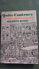 Quite Contrary : The Mary and Newt Stories by Stephen Dixon (1979, Hardcover)