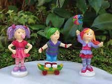 Miniature Dollhouse FAIRY GARDEN Candy CARNIVAL Set / 3 Children Kids Boy & Girl